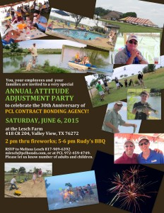 30th Anniversary Attitude Adjustment Party @ Lesch Farm | Valley View | Texas | United States